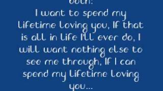 Download Lagu I want to spend my lifetime loving you (with lyrics) Gratis STAFABAND