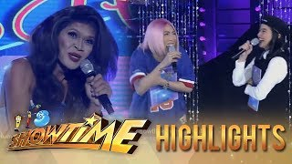 It's Showtime Miss Q and A: Vice Ganda and Anne laugh off President Ganda's funny stint