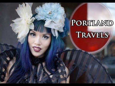 Alternative Portland Travel Tips! Lovecraft Goth club, food trucks, Steampunk fashion, vegan cafes