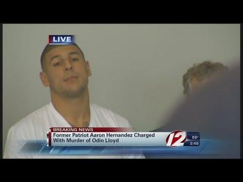 Aaron Hernandez Arraignment