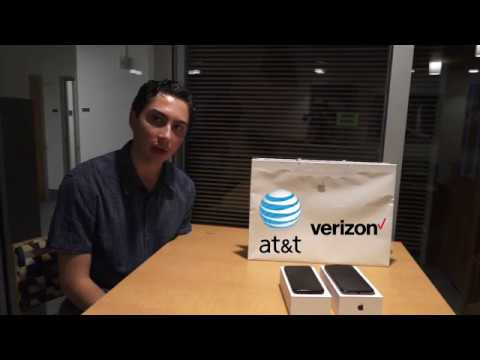 iPhone X Unlocked Verizon version on ATT