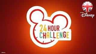 DISNEY HEALTHY LIVING   Join Disney's 24 HOUR CHALLENGE!   Official Disney UK