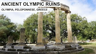 Tour of ANCIENT OLYMPIA - Greece, Peloponnese