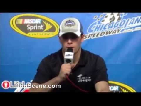 Jimmie Johnson Chicagoland Speedway pre-race news conference at Chicagoland Speedway part 1 Video