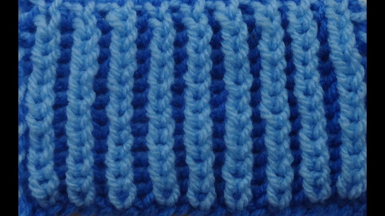 Видеоуроки вязания английская резинка 46
