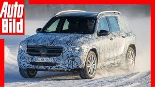 Mercedes GLB Erlkönig (2019):  Kompakt-SUV - Test - Mitfahrt