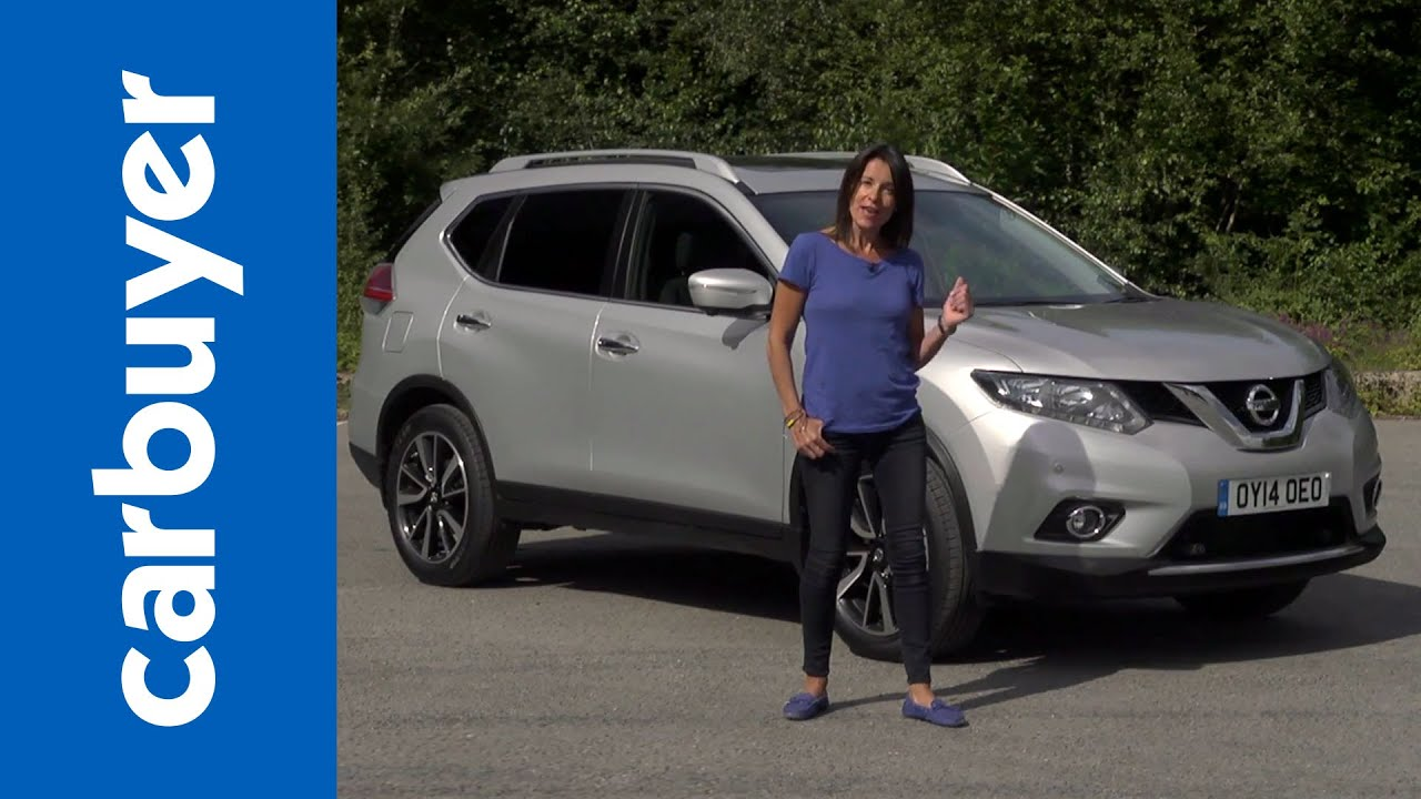 nissan x trail suv 2014 review carbuyer youtube. Black Bedroom Furniture Sets. Home Design Ideas