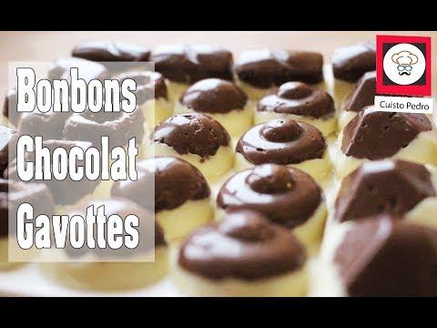 Recette de bonbon aux deux chocolat gavotte Thermomix TM5