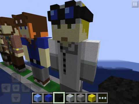 MCPE Statues- Lomadia and LividCoffee