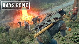 TAKING OUT A HORDE IN LESS THAN A MINUTE | Days Gone Survival Mode