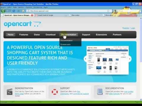 Instalação Loja Open Cart [ Tutorial 1] - Criando sua Loja Virtual / Ecommerce