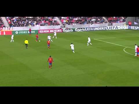 Thiago Alcantara vs England (U21 Championship 2011) HD 720p by Hristow