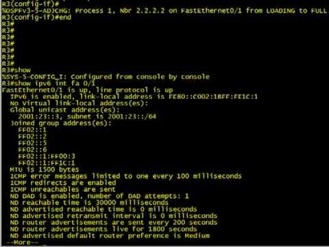 IPv6 basic implementation on Cisco IOS