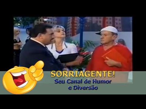 Golias e Ratinho em A Praça é Nossa SBT (2002) Canal SORRIA GENTE!