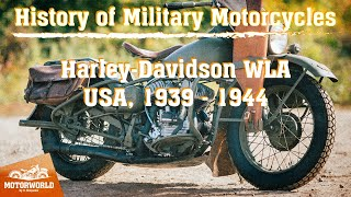 Harley-Davidson WLA | 1944, USA. Review & test-drive.