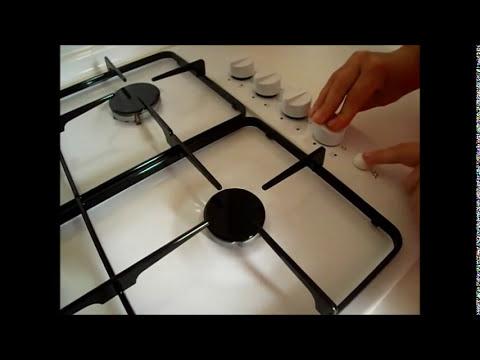 Instalación cocina encimera gas.