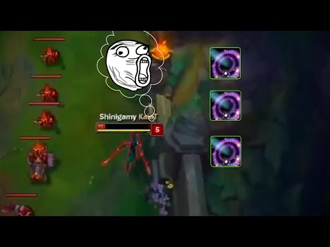LoL Funny Moments #44 Where is Akali ?(League of Legends)