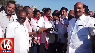 MP Gutha Sukender Reddy Fans Celebrations   Gutha As President Of Farmers' Coordination Committee