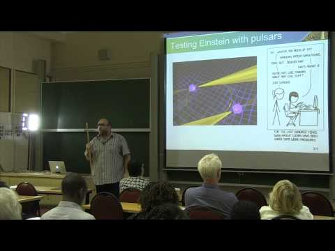 Radio Astronomy Technology in Africa Lecture by Dr Lindsay Magnus HD 720p