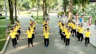 flash mob thai  nam a bank hd 2016