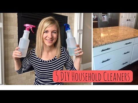 5 Simple DIY Household Cleaners | All Natural & Effective