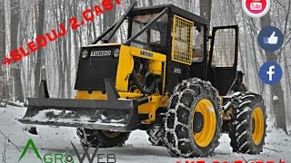 🎦  ▶│ LKT 81 TURBO  in action │ 2⃣  časť │→ Working in the forest Part Two│ Agro Web  ©