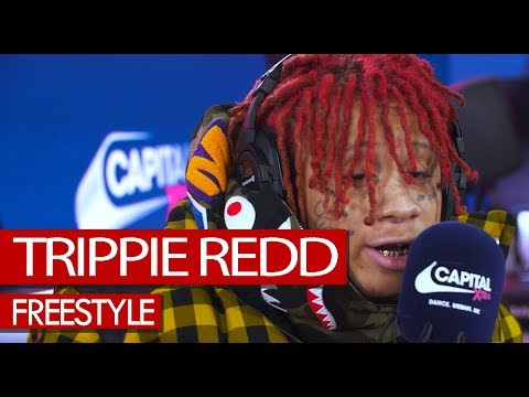 Trippie Redd freestyle on Family Feud - Westwood (4K)