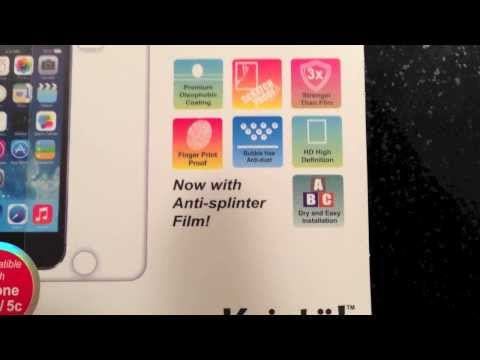 Review: Amzer Kristal Tempered Glass HD Screen Protector for iPhone 5/5S/5C