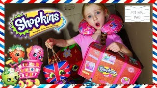I Mailed Myself in a Box to the Shopkins HQ! It Worked!!! Surprise Shopkins Box! (Skit)