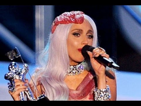 LADY GAGA BEST MTV VMA PERFORMANCES & MOMENTS: MEAT DRESS, PAPARAZZI PERFORMANCE