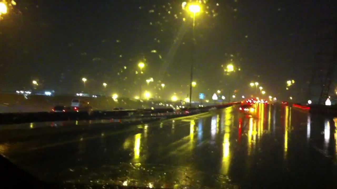 drive in rainbeautiful night view from dubai youtube