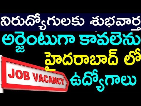హైదరాబాద్ లో ఉద్యోగాలు | Hyderabad Jobs For Women | Work From Home Jobs | Private Jobs|SumanTv Jobs