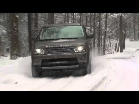 ► Range Rover in the Snow