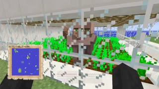[Minecraft] V2 Survival Island - Looking at our progress - All auto farms - PS4 -