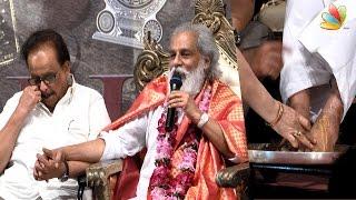 SP Balasubramaniam Gives Emotional Tribute To KJ Yesudas With Pada Pooja | Latest Speech