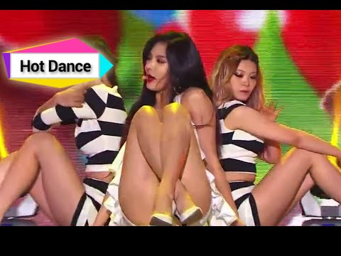 [HOT] HyunA(4minute) - RED, 현아(포미닛) - 빨개요 Show Music Core 20140816