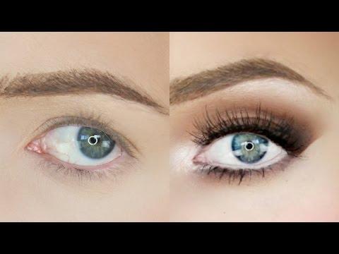 Droopy eye makeup