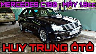 MERCEDES C180 2004 MÁY 1.8cc ,8 túi khí ,phanh ABS GIÁ 210TR LH 0905356663 - 0935146262
