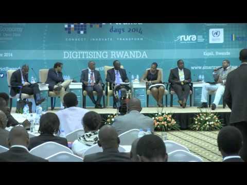 Smart Rwanda Days 2014 - Greasing the wheels of the Internet Economy