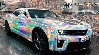 Download Lagu TÜRKİYE'DE İLK HOLOGRAM KAPLAMA UYGULAMASI (Camaro RS) GMG Garage Car Wrapping Gratis STAFABAND
