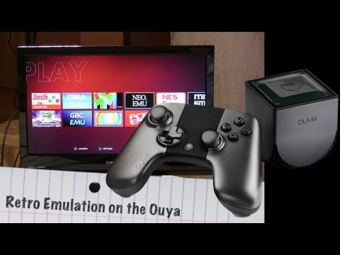 Retro Emulators on the Ouya: NES. SNES. Genesis. Gameboy Turbografx. NeoGeo & more