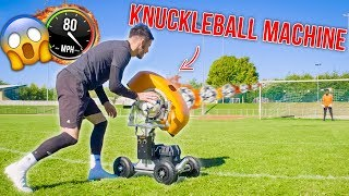 INSANE BALL LAUNCHER KNUCKLEBALL GOALS!!!