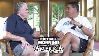 Carolina Panthers' Ron Rivera breaks down game film with Peter King | NBC Sports