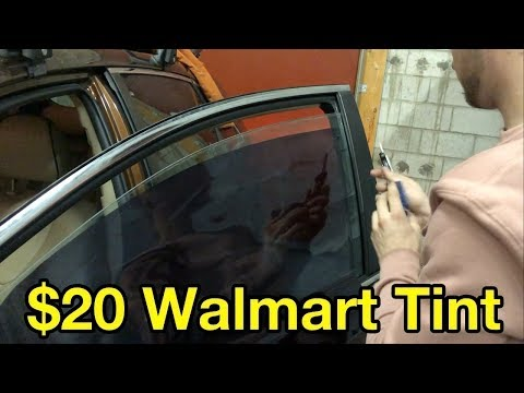 How Bad Is $20 Walmart Window Tint? (tutorial & review)