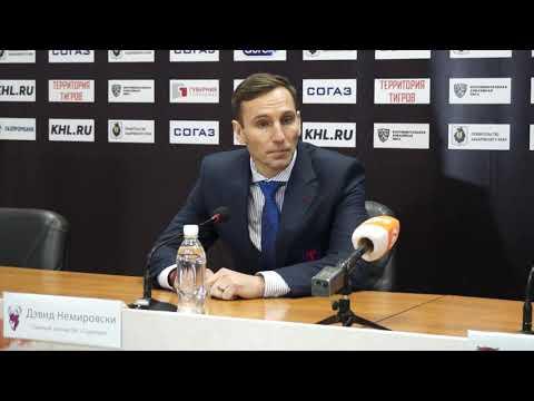 22.10.2018 / Amur - Torpedo / Press Conference