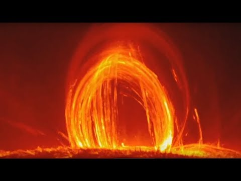 Video Replay: Loops of Fire - Solar Flares and Incredible views from the surface of the Sun