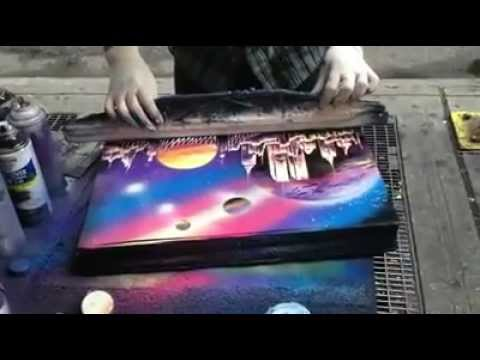 Unbelievable New York Street Artist!!! klip izle