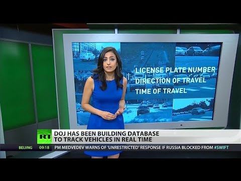 Department of Justice system tracking citizens' movements on the road