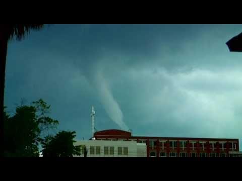 Underneath A Tornado!!! (Jacksonville, FL)