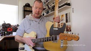 Carlton Guitars: Ash vs Alder & Maple vs Rosewood